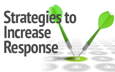 strategies to increase response