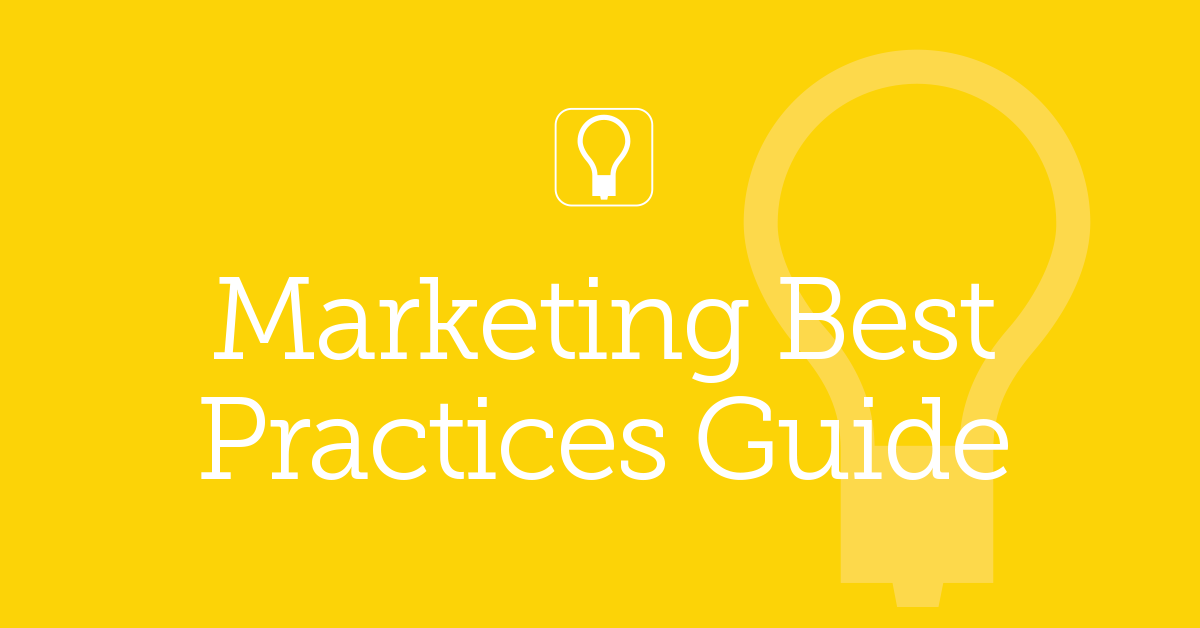 2019 Marketing Best Practices Guide