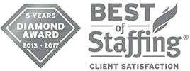 Best of Staffing - Client Satisfaction - Diamond Award