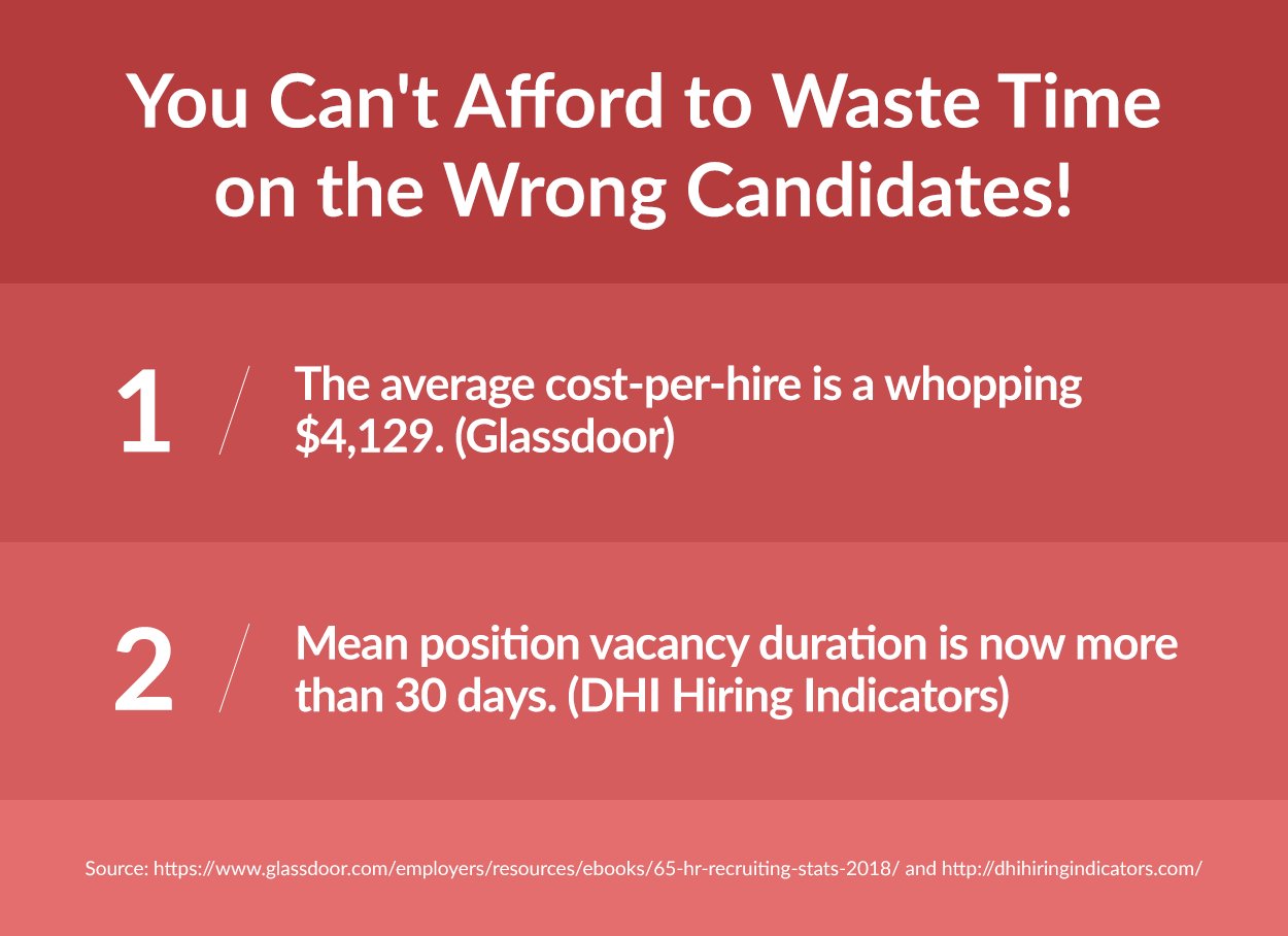 You Can't Afford to Waste Time on the Wrong Candidates