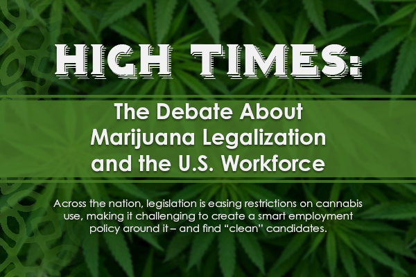 High Times:  			The Debate About Marijuana Legalization and the U.S. Workforce> 		</div> 		<form id=