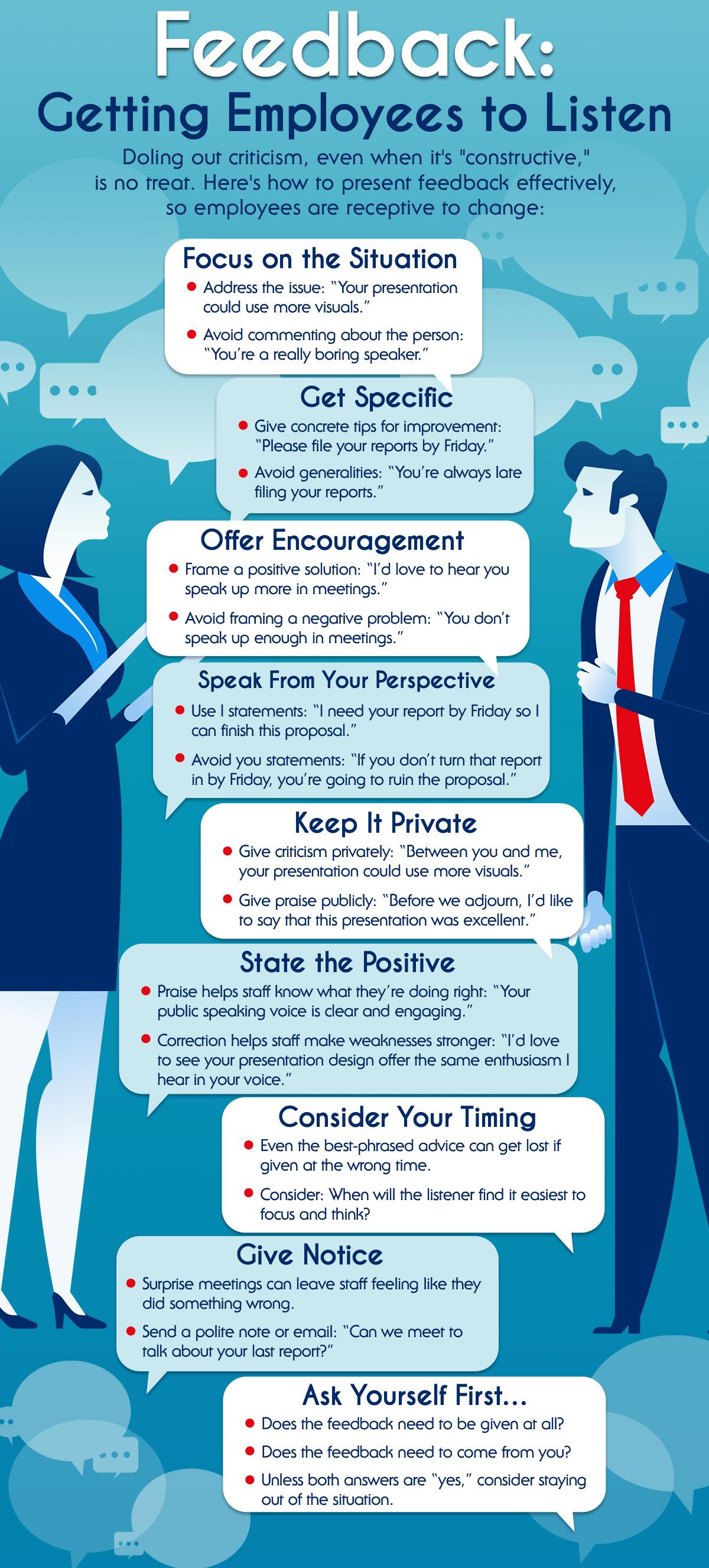 Feedback: Getting Employees to Listen
