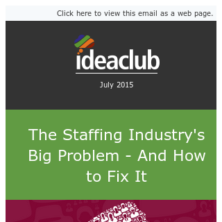 Staffing's Image Problem (and how to protect your firm)
