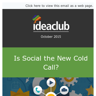 Is Social the New [STAFFING] Cold Call?