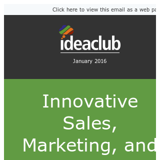 30 Innovative Sales, Marketing & Recruiting Ideas (eBook inside)