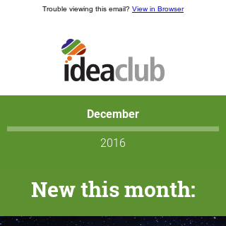 [Idea Club] Haley Marketing - Best of 2016