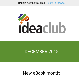 [Idea Club] The Best of 2018 from Haley Marketing