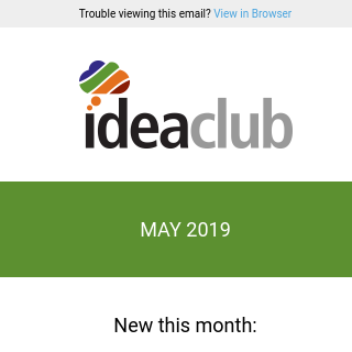 [Idea Club] Spring Cleaning Your Marketing and Recruiting