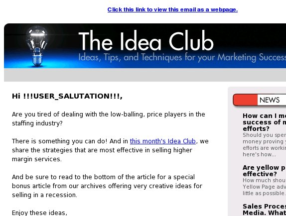 [Idea Club] Overcoming the price objection