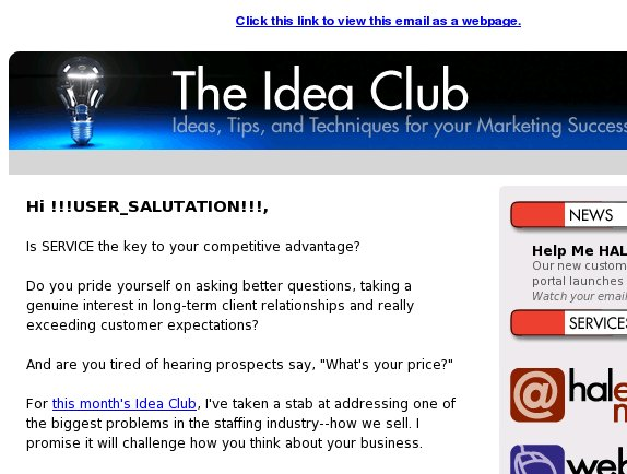 [Idea Club] Be an UNSTAFFING firm?